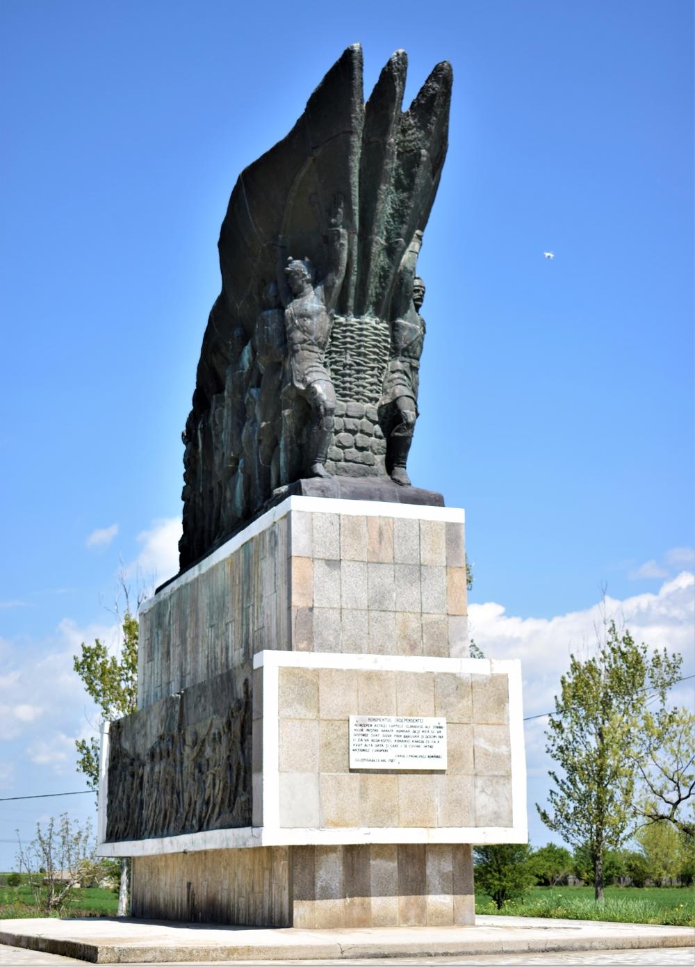 Monumentul Independenței din cartierul Siliștioara, Corabia