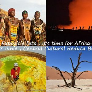 It's time for Africa ! – Expoziție Foto – Be Free Be Zen