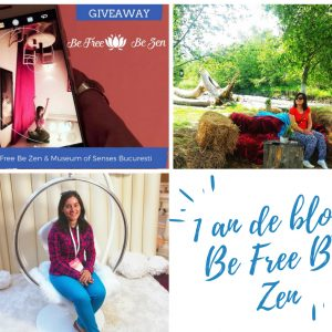 1 an de blog – Be Free Be Zen te premiază!