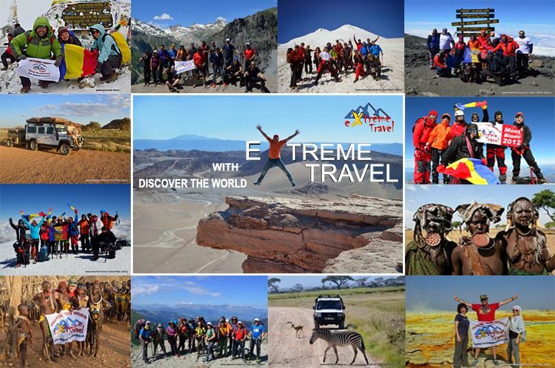 Călătorește în jurul lumii alături de Extreme Travel