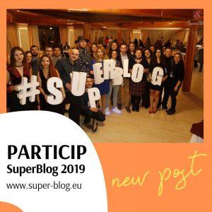 Particip la SuperBlog toamna 2019